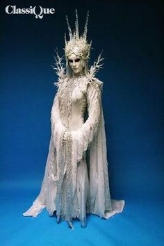 Crystal Ice Queen - Hire & Book For Parties & Events - Classique