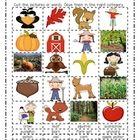free  Noun Sort- Fall and Halloween
