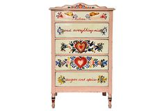 Peter Hunt-Style Painted Chest on OneKingsLane.com