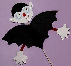 tuto et gabarit vampire pour Halloween