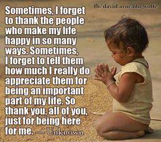 Bij deze... een reminder voor een ieder die ik lief heb... ♡