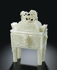 18 TH..19 TH...CHINESE JADE WHITE..PARTAGE OF CURIEUSE CHINE....