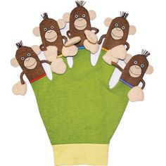 Making Hand Puppets or Glove Puppets For Kids & Groups By Dr. Deah Schwartz #arttherapyactivities