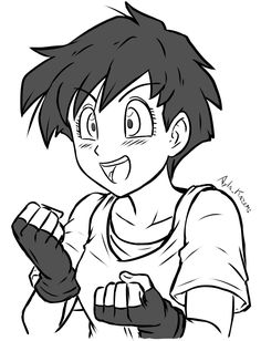 Dragon Ball Z, Videl Dbz, Manga Anime, Anime Art, Manga Dragon, Z Wallpaper, Final Fantasy Artwork, Animated Dragon, Avatar Airbender