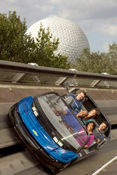 The Test Track ride at Epcot. - Courtesy of Kent Phillips/Walt Disney World Resort