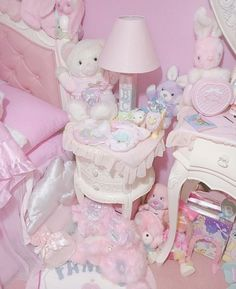 ♥ The Cutest Monthly Kawaii Subscription Box ♥ Receive cute items from Japan & Korea every month ♥ Pastel Room, Pink Room, Baby Pink Aesthetic, Aesthetic Bedroom, Looks Kawaii, Kawaii Bedroom, Otaku Room, Cute Room Ideas, Dream Rooms