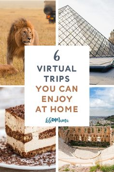 Being stuck in one place is tough on our mental health, but we recently discovered a list of virtual experiences that might just save my sanity. TripAdvisor has devised a way to help people explore the world while we're all staying safe at home. Take advantage of these virtual travel activities! | #lifeasmama #virtualtravel #travel #fun #activities #tripadvisor