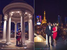 Las Vegas Wedding Photographers, Las Vegas Event Photographers, Exceed Photography, Red dress, Creative wedding photos ideas