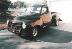 1952, Studebaker Shortbox in Saginaw, MI. Chevy s-10 frame, 4 wheel Disc. brakes, Aluminum Radiator, Buick 455 engine, 204 overdrive trans, ford 8.8 rear end, Custom Interior, 91 Cadillac taillights, 1931-32 big Cadillac truck box for a toolbox, Chevy tilt wheel. - See more at: http://www.cacars.com/1002456.html#sthash.XXvwuheM.dpuf