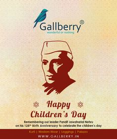Salute to Shri. Jwahar Lal Nehru ji, great leader who gave new meaning to growing India. Children's Day Wishes, Happy Children's Day, Child Day, Great Leaders, Special Day, India, Goa India