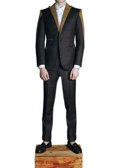 harcoal wool suit by Duly Equipped