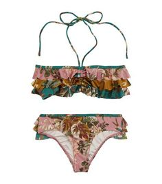 Zimmermann Tropical Frill Bandeau Bikini available to buy at Harrods. Shop childrenswear online and earn Rewards points.