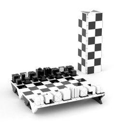 Darko Nikolić: Victor Chess Set - logical design