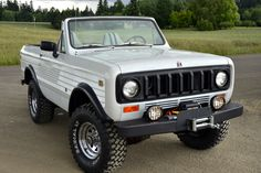 """This 1979 International Harvester Scout II comes from near the end of International Scout production, and retains its original engine, transmission, transfer case, and axles. This example is fitted with a Trailmaster 4"""" lift, aftermarket wheels, 33"""" modern off-road tires, and a winch."""