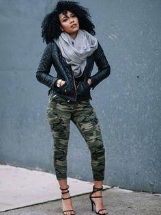 Camouflage up your style. Insta: fashionating_style_inspiration
