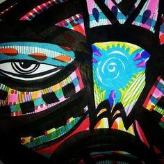 Work in progress Klimt, Global Art, African Art, Masks, Painting, Frida Khalo, Artists, Painting Art, Paintings