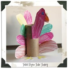 Kids Project Toilet Paper Tube Turkey