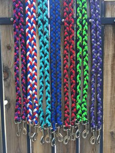 Paracord Horse Reins You Pick the Colors by 550SurvivalGear