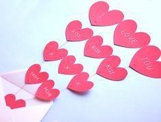 printable valentine cards  Mas ideas en www.casarcasar.com