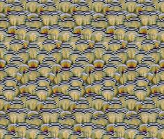 woodduck opal fabric by glimmericks on Spoonflower - custom fabric