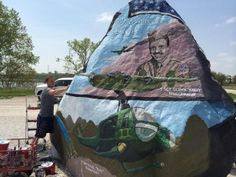 Freedom Rock surprises people every day   Local News - KCCI Home