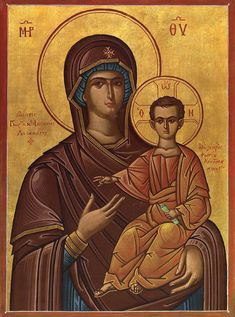 Orthodox Christianity, Orthodox Icons, Blessed Mother, Buddha, Statue, Painters, Greek, Art, Art Background