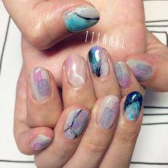 ▫️◻️▪️⚪️✨#Nail#art#nailart…