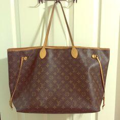 Authentic Louis Vuitton Neverfull GM Euc Louis Vuitton Bags Shoulder Bags