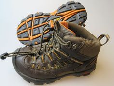 KEEN Boy's Kid's Waterproof Brown Leather Toggle Closure Boots Size 12 #KEEN #Boots