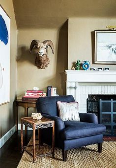 The inspiring home of this up-and-coming designer.