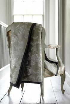 New - Halkin Silks Collection from James Hare Wave Curtains, Curtains With Blinds, Decor Blinds, Fabric Samples, Hare, Fabric Patterns, Interior Styling, Lace Skirt, Blanket