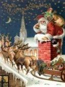 Santa & the chimney