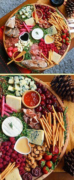 Uma tábua de queijos caprichada para o Dia dos Namorados