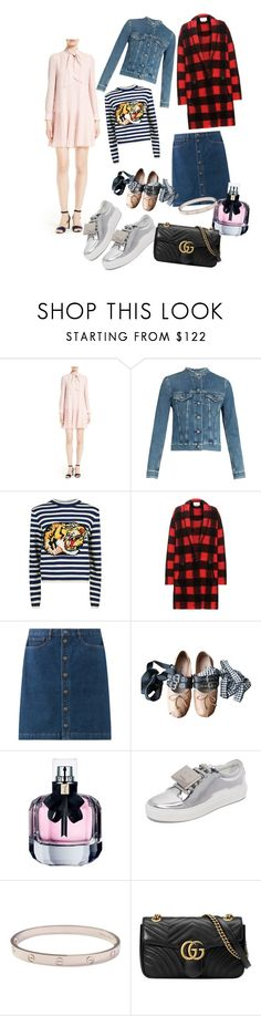 """""""65th polyvore - WISH LIST ✨✨"""" by vanilllllacupcake ❤ liked on Polyvore featuring Kate Spade, Acne Studios, Gucci, Étoile Isabel Marant, Miu Miu, Yves Saint Laurent and Cartier"""