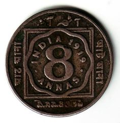 Rare Coins of India ~ George V Annas 8 Rare British Coins, Rare Coins, India Images, World Coins, King George, Fountain Pens, Stock Market, Notes, Stamp