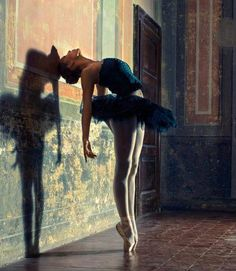 reminds of Degas