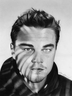Leonardo DiCaprio by jthompson007 Pencil Drawing   | First pinned to Celebrity Art board here... http://www.pinterest.com/fairbanksgrafix/celebrity-art/ #Drawing #Art #CelebrityArt