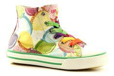 Little david balloon1 groene hoge-kinder-sneakers - Meisjesschoenen - Online Bestellen En Kopen Bij Sooco.