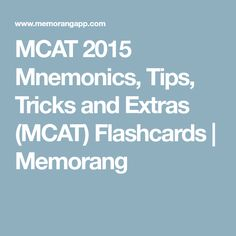 Flashcards periodic table of elements learning the names and mcat 2015 mnemonics tips tricks and extras mcat flashcards memorang urtaz Image collections