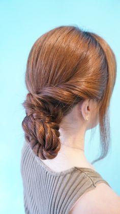 braids up do bun ruler hair dressing japan makoto ishii