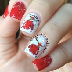 Lovely Holiday Nails Designs to Get You in the Spirit ★ See more: https://naildesignsjournal.com/holiday-nails-designs/ #nails