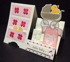 Stampin days; something for baby, made with love, teeny tiny wishes, Stampin' UP!