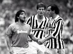 Maradona, Laudrup e Platini.