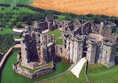 Raglan Castle in Wales...this is my grandma's family castle. So glad Andy got to go there a few years ago.