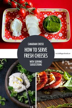 Fresh Canadian cheeses like burrata, ricotta, chèvre and more are delicious on their own but learning what to pair them with can elevate them to a new level! Canadian Recipes, Canadian Food, Canadian Cheese, Buffalo Mozzarella, Easy Entertaining, Cheese Platters, Camping Meals, Cheese Recipes, Charcuterie