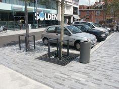 project Kapellen (B) - plein - projecten ANÆ straatmeubilair - ANAE straatmeubilair