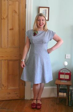 Anna dress, Handmade Jane's version (pattern by By Hand London).