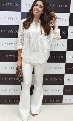 Look: Camila Coutinho - All White