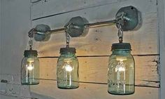 34 FABULOUS MASON JAR LIGHTS   Interior Design Inspirations for Small Houses