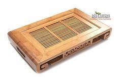 SHAMBALAYA Bamboo Tea Table Tray Chinese Gongfu Style